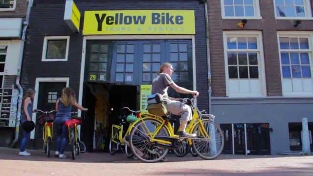 Yellow Bike – City Bike Tours