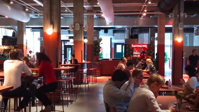 Food Halls at Kop van Zuid – Food for all Tastes!