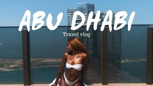 ABU DHABI IS BETTER THAN DUBAI | ABU DHABI VLOG🇦🇪