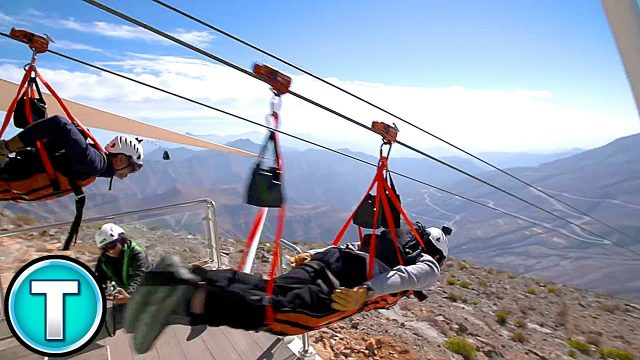 Jebel Jais – World's Longest Zipline