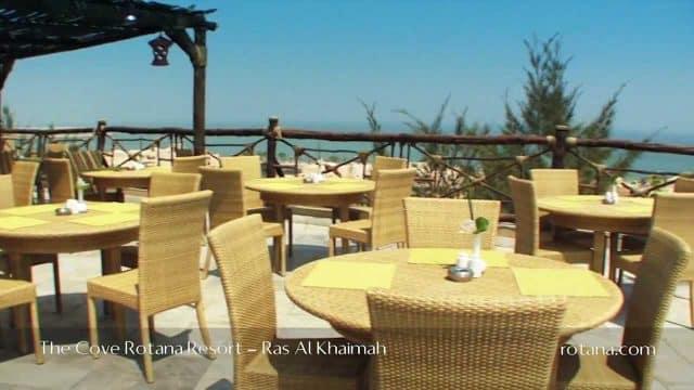 Restaurants @ The Cove Rotana Resort Hotel and Spa in Ras Al Khaimah, UAE