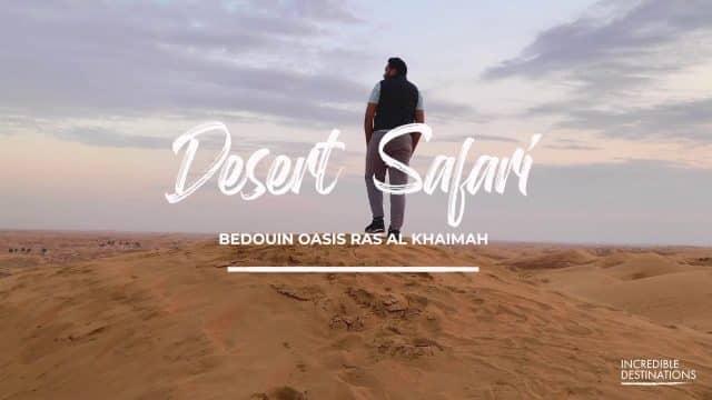 #Desert #Safari In Ras Al Khaimah