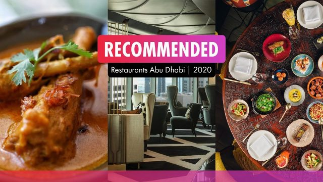 Abu Dhabi Most Recommended Restaurants