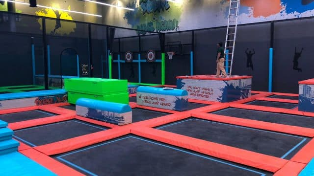The Best Trampoline Park in the Middle East