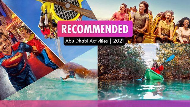 Abu Dhabi's top 5 activities
