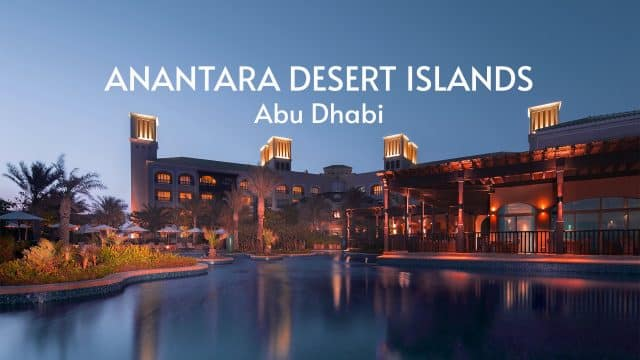 Anantara Desert Island Resort & Spa