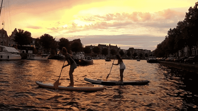 Sports and Tours paddle boarding Haarlem