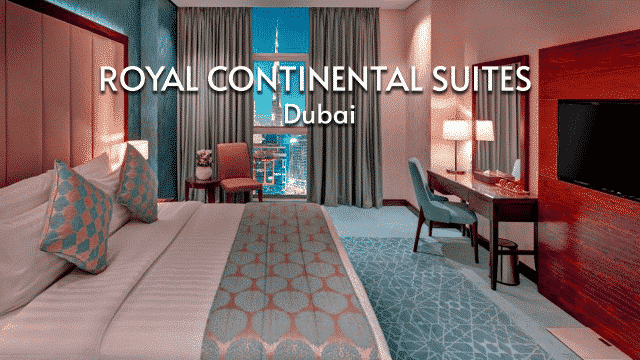 Royal Continental Suites | Stay in Business Bay